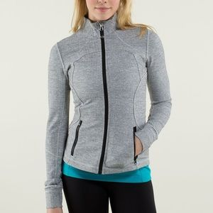 Lululemon Ghost Herringbone Forme Jacket Size 2